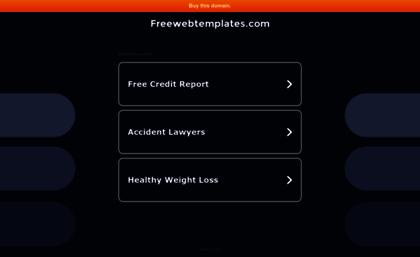 Freewebtemplatescom Website Free Web Templates Free Web Designs - Free webtemplates