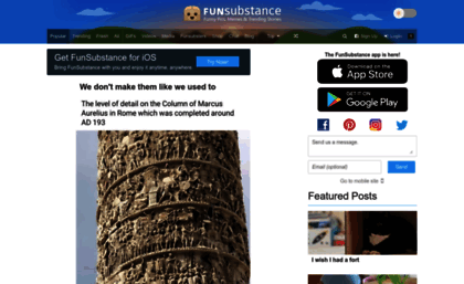 Funsubstance Com Website Funsubstance Funny Pics Memes And Trending Stories Download gif or share funsubstancekid animation you can share gif funsubstance with everyone you know in twitter. websites milonic com