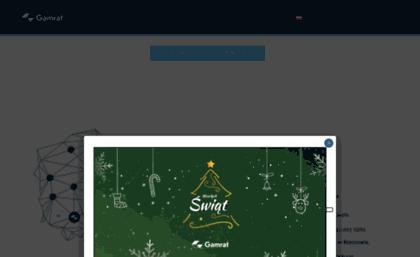 Gamratpl Website Gamrat Sa Systemy Rynnowe Deski