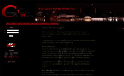 Ganglandmafia com website  Gangland Mafia - Massive
