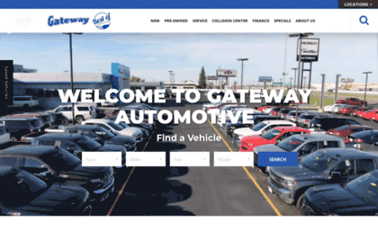 Gatewayfargo.com website. Gateway Chevrolet Cadillac is a Cadillac