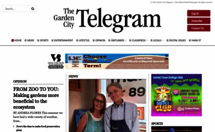 gctelegramcom - Garden City Telegram Obituaries