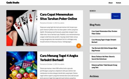 Gedis-studio com website  Gedis-studio com
