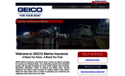 Geico Marine Insurance >> Geicomarine Com Website Geico Marine Insurance