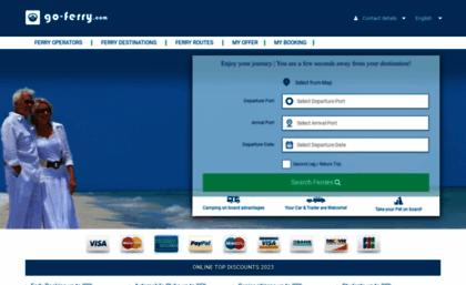 Go-ferry com website  Go-Ferry | Tickets to Enjoy Europe by Ferry