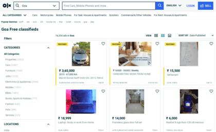 Goaolx website free classifieds in india classified ads in goaolx reheart Choice Image