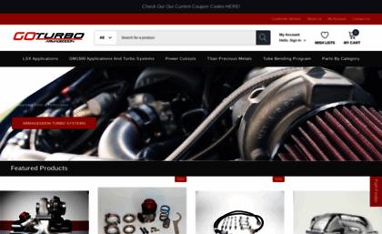 Goturbo net website  Twin Turbo Kits - Cadillac GMC Ford