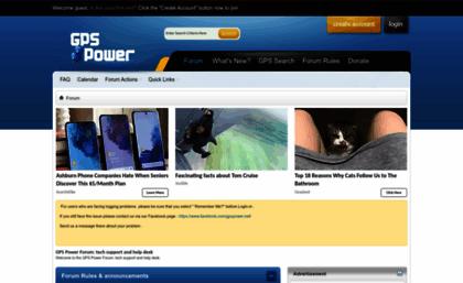 Gpspower net website  GPS Power Forum: tech support and help desk