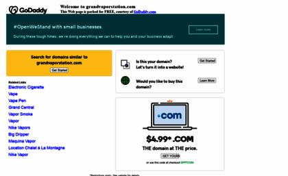 Grandvaporstation com website