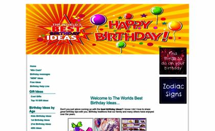 Great Happy Birthday Ideas