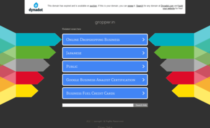 Gropper in website  Grocery Products Online - Business