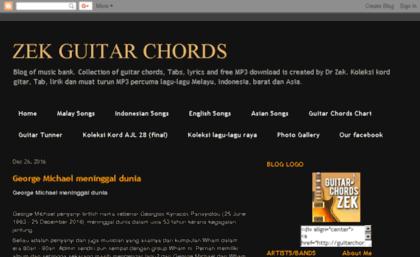 Guitarchordzek Blogspot Sg Website Zek Guitar Chords