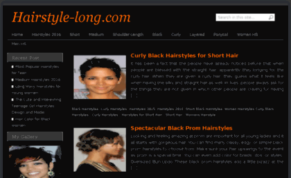 Hairstyle-long.com website. Hairstyle-long.com.