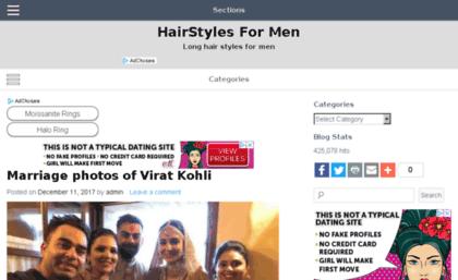 Hairstylesformen.in website. HairStyles For Men - Long hair styles ...