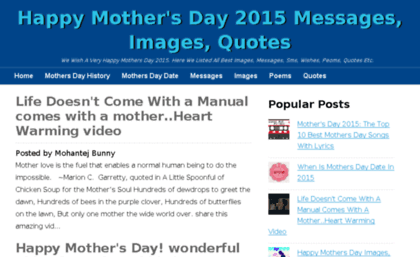 happymothersday2015messages.org