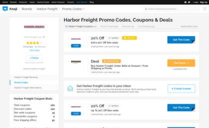 Harborfreight bluepromocode com website  $571 Off Harbor