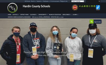 Hardin k12 ky us website  Home - Hardin County Schools