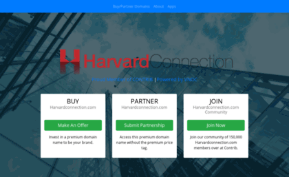 Harvardconnection com website  Most effective Business