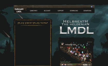 Hblmdl com website  Helbreath LMDLl - Free MMORPG