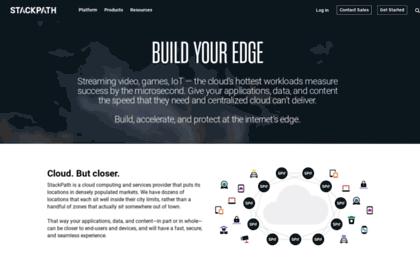 website. Secure Edge Services | CDN, WAF, DNS