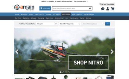 Heliproz com website  Radio Control (RC) Helicopters, Bind-N