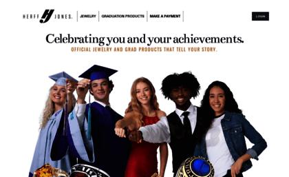 Highschoolherffjonescom Website High School Class Rings And