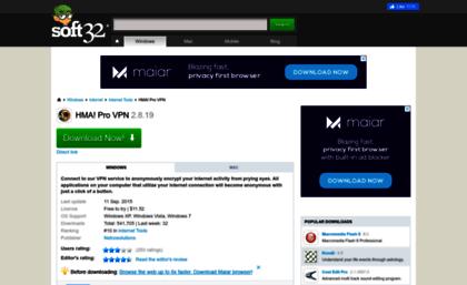 Hma-pro-vpn soft32 com website  Download HMA! Pro VPN 2 8 19