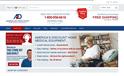 Home-med-equip com website  Discount Home Medical Equipment