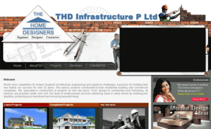 Homedesigners.in website. THE HOME DESIGNERS- Civil Engineers ...