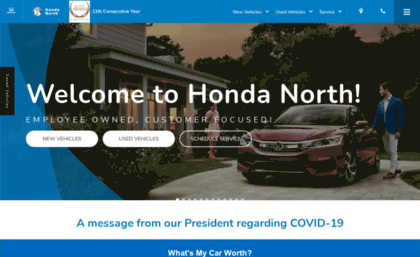 Hondanorth Website Honda North
