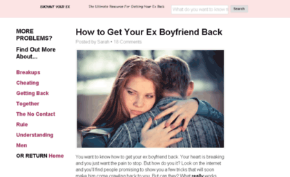 How-to-get-my-ex-boyfriend-back com website  502 Bad Gateway
