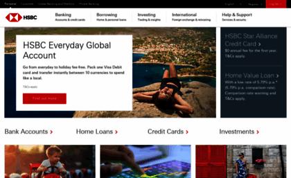 Hsbc com au website  HSBC Australia - Personal Banking