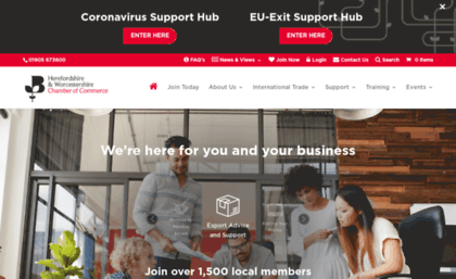 Hwchamber co uk website  Business Support for Herefordshire