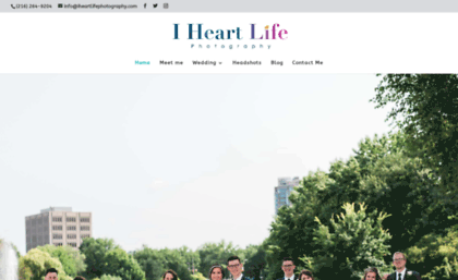 Iheartlifephotography com website  Cleveland Wedding