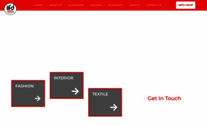 Iifd In Website Iifd Indian Institute Of Fashion Design Best Fashion Design Course Insti