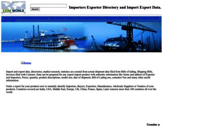 Importers-directory net website  Importers Exporter