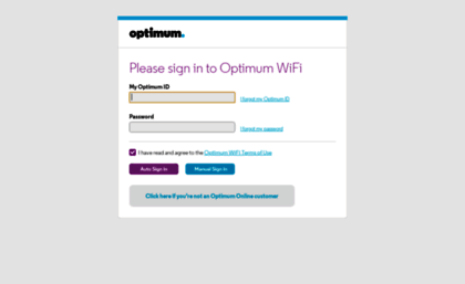 Indoorwifi optimum net website