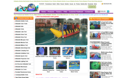 inflatable-bubble-tents.com  sc 1 th 176 & Inflatable-bubble-tents.com website. Inflatable Bubble BallBubble ...