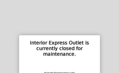 Gentil Interiorexpressoutlet.americommerce.com