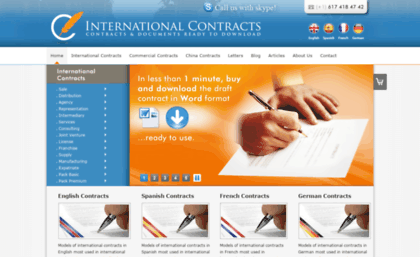 international contracts and international sale contracts This model contract contains the substantive rules for an international sales contract, ie the main rights and obligations of the parties, the remedies for breach of contract by the buyer the remedies for breach of contract by the.