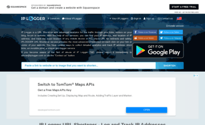 Iplogger com website  IP Logger URL Shortener - Log and