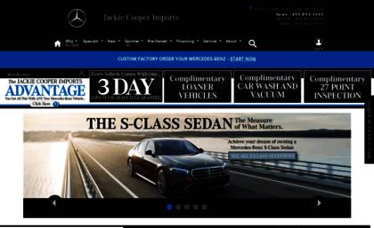 Website jackie cooper imports for Jackie cooper mercedes benz tulsa