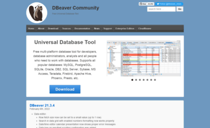 Jkiss.org website. DBeaver   Free Universal Database Tool.