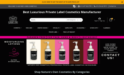 Jordane com website  Luxury Private Label Cosmetics Manufacturer of