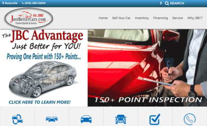 Just Better Cars >> Justbettercars Com Website Justbettercars Com Used