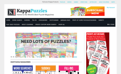 3611188854 Kappapuzzles.com website. Kappa Puzzles – The Leading Publisher of ...