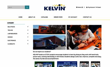 Kelvin com website  Welcome to KELVIN® Educational