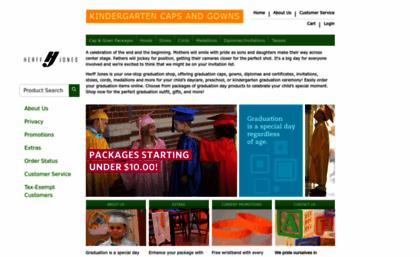 Kindergarten.herffjones.com website. Graduation Caps and Gowns for ...