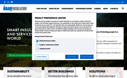 Knaufinsulation com website  Knauf Insulation - We believe