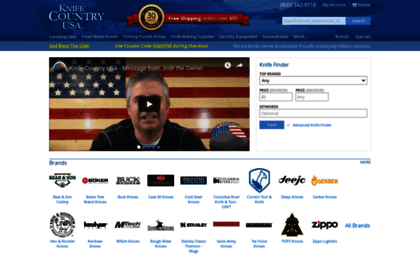 Knifecountryusa com website  Knives and Outdoor Survival